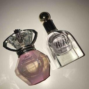 Säljer 2 parfymer en one direction, o en Rihanna RiRi  Inte använda  Köparen står för frakt