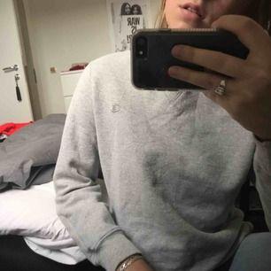 Supersnygg grå vintage champion sweatshirt, kommer tyvärr inte till användning! Buda i kommentarsfältet 🧚🏻♀️💕🌾✨ (frakt på 63kr tillkommer)
