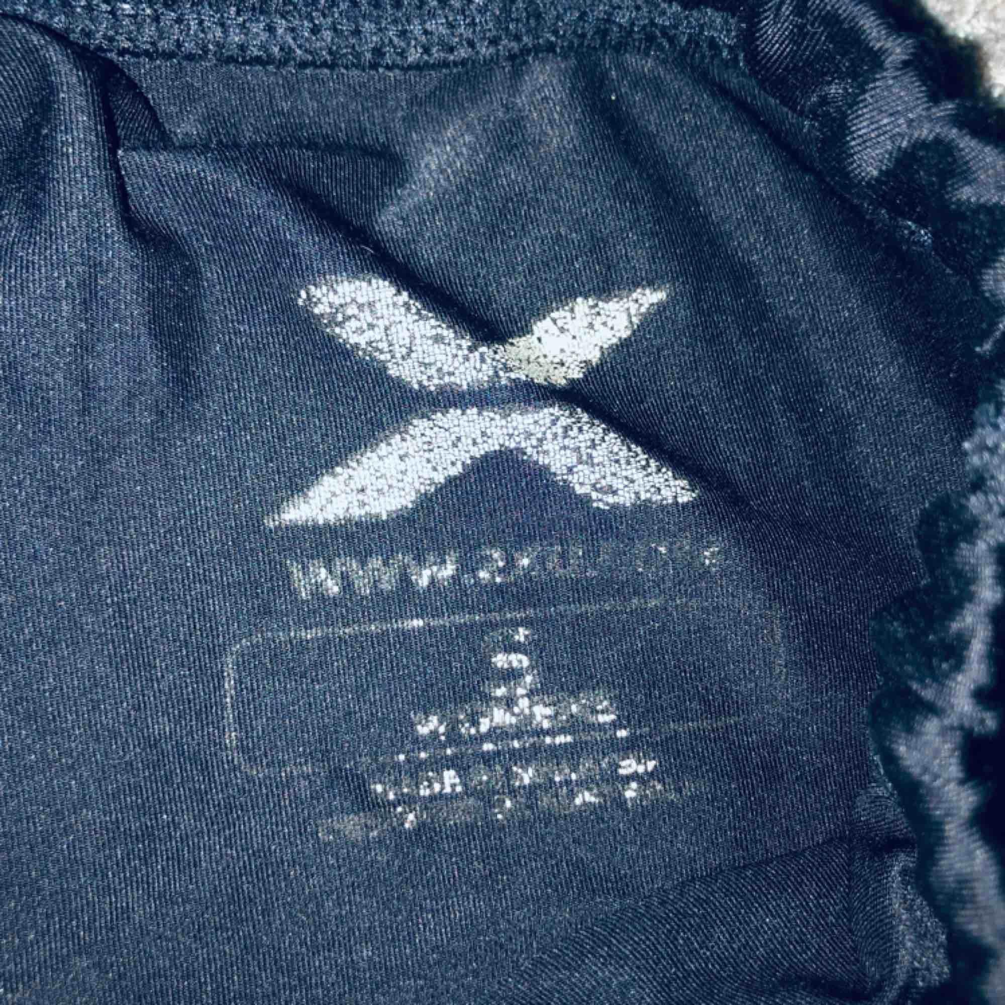Säljer ett par svarta 2XU tränings tights i storlek small ser små ut i person men stretchar sig väldigt bra. Jeans & Byxor.