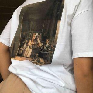 Supercool t-shirt ifrån Zara. Endast använd 1 gång, köpare står för frakten. ⭐️