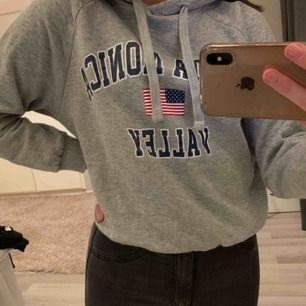 Grå hoodie från Gina Tricot  Storlek Xs  Fraktar och kan mötas upp i Umeå💘