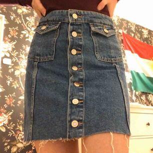 En jättefin kjol från Zara! Använd 2 gånger, säljer för det inte är min stil längre. Köpare står för frakt