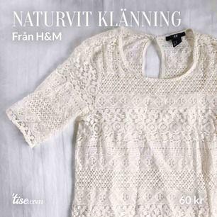 Spetsklänning från H&M. Använd fåtal gånger. Köparen står för frakt!