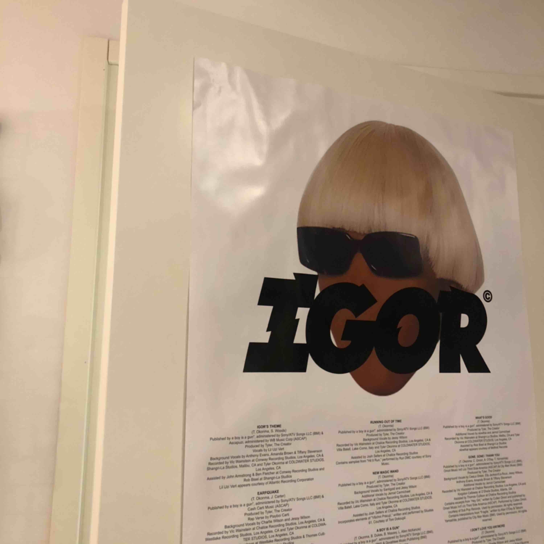 IGOR poster, frakt 63:-    7/10 condition. Övrigt.