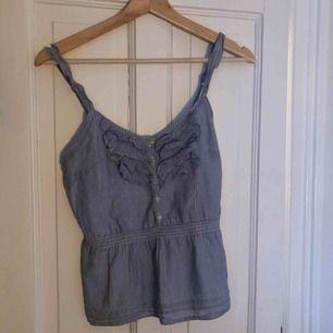 Jättesött och snyggt linne från Abercrombie & Fitch! Gott skick, kan mötas upp i Stockholm eller frakta för extra pris.