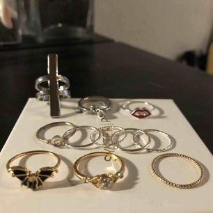 De minsta ringarna 5kr/styck De större 10kr/styck✌🏼✌🏼
