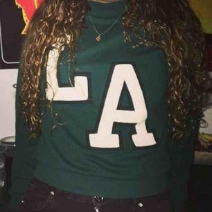 Grön sweatshirt från hm💕
