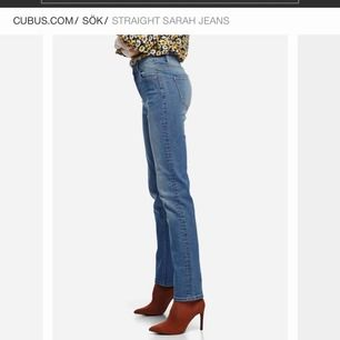 Basic raka blåa jeans från cubus. Sitter som en smäck! Knappt använda, perfekt skick