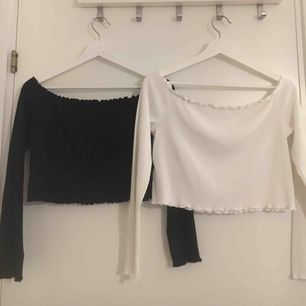 jättefina tröjor, en vit och en svart!