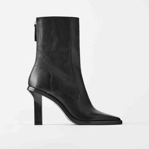 Nya supertrendiga boots från ZARA. Oanvända, nypris 1295:-
