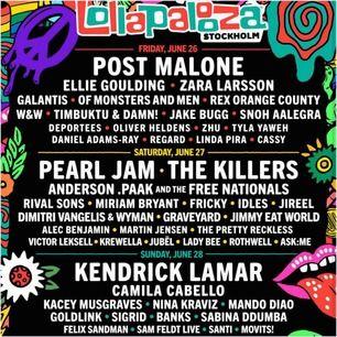Säljer min Lollapalooza biljett eftersom att jag fick ändrade planer! Det är 3-dagars och biljetten är digital. Hör av dig vid intresse!💕
