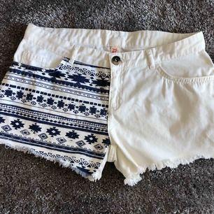 Jeans shorts Storlek M Nyskick, använd 1 gång 50 kr Kan skickas mot fraktkostnad Djurfritt och rökfritt hem