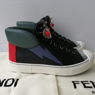 Fendi Women sneakers, excellent condition, small defect in one shoe, dustbag, size 36, insole 23.5cm, Leather, write me for more info, RRP 600.00€