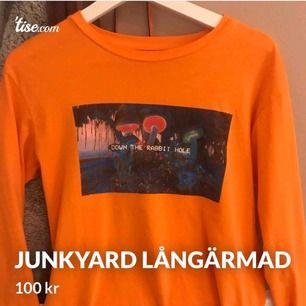 Helt oanvänd tröja från Junkyard. Frakt inräknad