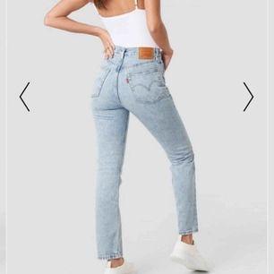 Ett par super fina jeans från Levi's. Helt oanvända. Ny pris 999kr. (lånad bild)
