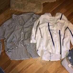 Två jätte fina blusar (dom är lite kortare typ som mag blusar) Dom är storlek Xl men jag har Xs M och dom passar jätte bra💞