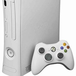 XBOX 360+ 2 kontroller samt några spel. Har fifa spel, brottningspel och några bil spel. Tror de är sammanlagt 10 spel. PRISET KAN DISKUTERAS