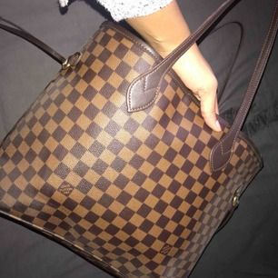 Louis vuitton shopper bag   Knappast använd