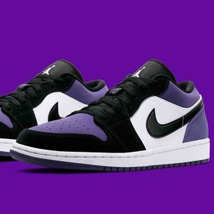 Nike Jordan 1 Low. Oanvända, helt sprillans nya.