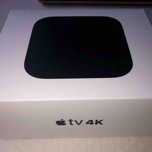 Helt ny Apple TV säljs nypris 1900kr  Fick den i julklapp men kommer inte använda den så säljer billigt ops frakt 67kr