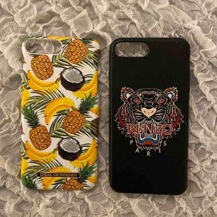 Säljer dessa iphone 8 plus skal för 70kr st !! Det är inte mycket skavanker på dessa bara lite små här och där, hör av er om ni vill ha tydliga bilder !! Möts upp i Linköping annars står köparen för frakt 💗 (OBS KENZO SKALET ÄR SÅLT)
