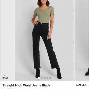 Jeans från nakd i storlek 36. Aldrig använda!! Nypris 499kr! Fraktar eller möts upp. 😊 (säljer likadana i grå vid intresse!