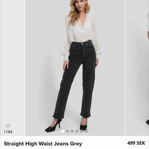Jeans från nakd i storlek 36. Aldrig använda! Nypris 499kr. Möts upp eller fraktar! 😊 (säljer likadana i svart vid intresse.