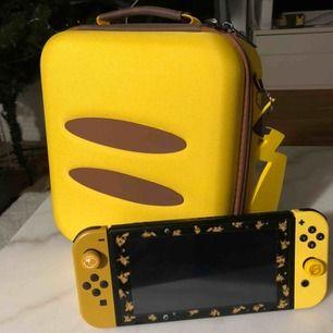 Säljer nu en oanvänd Nintendo switch väska som passa perfekt till Nintendo switch pikachu.