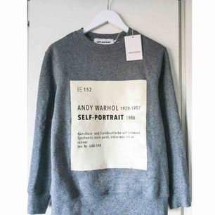 SELF-PORTRAIT signature sweater. Brand new with tags! 80% cotton, 20% polyester.  Size S. Available for both national and international shipping or personal collection in Stockholm. There's some red marks at the bottom of the front print.