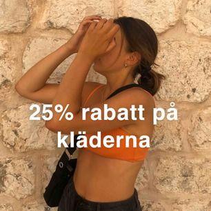 25% avdrag på kläderna fram till 25e januari!! Passa på nu