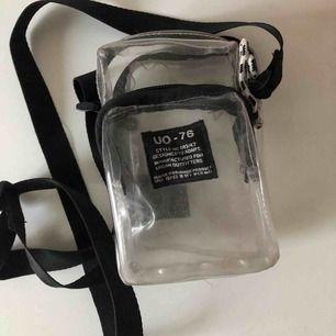 """Transparent """"kamera"""" väska 😁"""