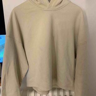 hoodie i färgen ljus beige i storlek M från Weekday.  har aldrig använt den så den är helt i nyskick. kan mötas upp inom trelleborg/ystad eller malmö för den som är intresserad.  (frakt ingår om man vill ha den på posten!)