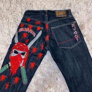 Skit snygga jeans som jag köpte här plick men tyvärr va dem för små för mig :(