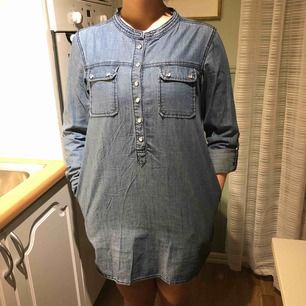Jeansskjorta/tunika