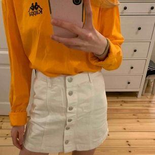 Vit kjol från new look petite denim stl xs