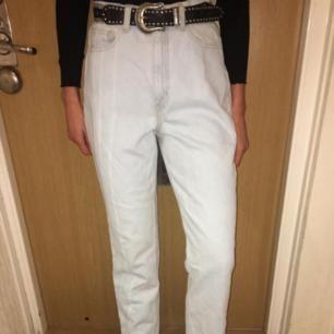 American Apparel mum jeans.