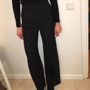 Nya svarta kostymbyxor från hm.