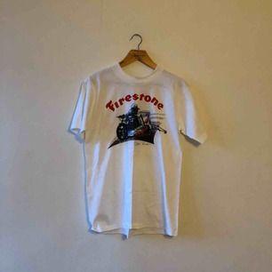 Vintage NOS - Firestone - Tryck på båda sidorna - Kan hämtas i Uppsala eller skickas mot fraktkostnad