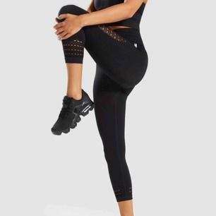 Super fina Energy + Seamless cropped leggings i strl xs från Gymshark! 😍 Helt nya och oanvända, alla etiketter finns kvar. Sälja pga. Jag har två par ☺️