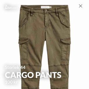 Cargo byxor från H&M väldigt sällan använda. Storlek 44 Ordinarie pris 350kr