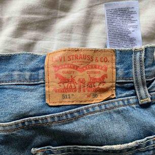 Jeansshorts från Levi's, använda endast ett fåtal gånger