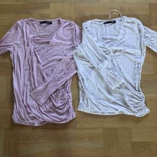 2 st likadana tröjor i olika färg i bra skick. Gör sig extremt dålig på bild dock😅 köparen står för frakt