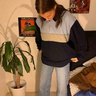 Oversized sweatshirt med dragkedja! Superskön! Köparen står för alternativ frakt😊