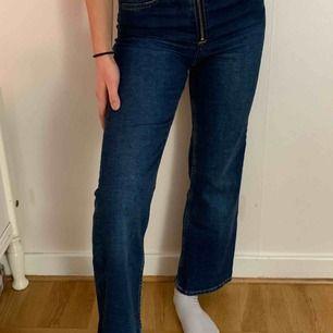 Flare high waist jeans från H&M