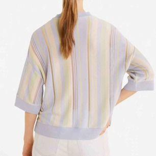 oanvänd transparent tröja från mango! lite glittrig :)) fraktar inte men möts upp i stockholm! köpt för 350