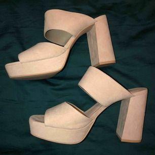 Helt nya högklackade skor. Storlek 40 endast provade. Köpare står för frakt