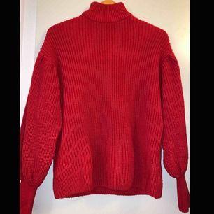 Röd polo tröja
