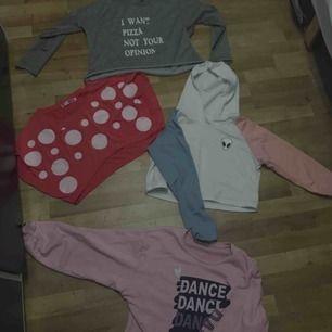 50 kr varje tröja  150 alla