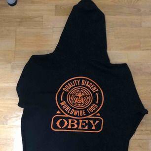 Obey zip up hoodie Worn once