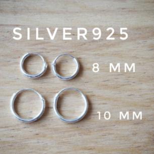 silverörhängen  8mm 70kr/par▪ 10mm 80kr/par▪ frakt 10 kr  NYA!!